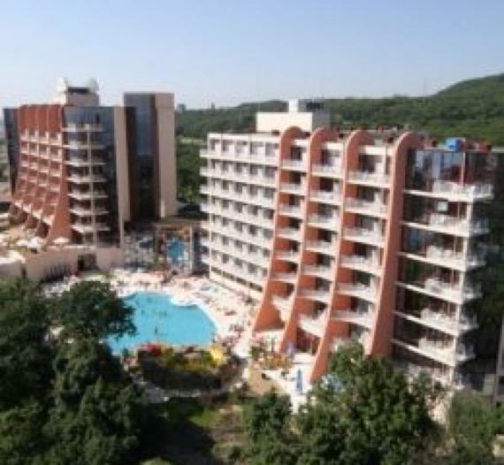 снимка на хотел хелиос спа златни пясъци
