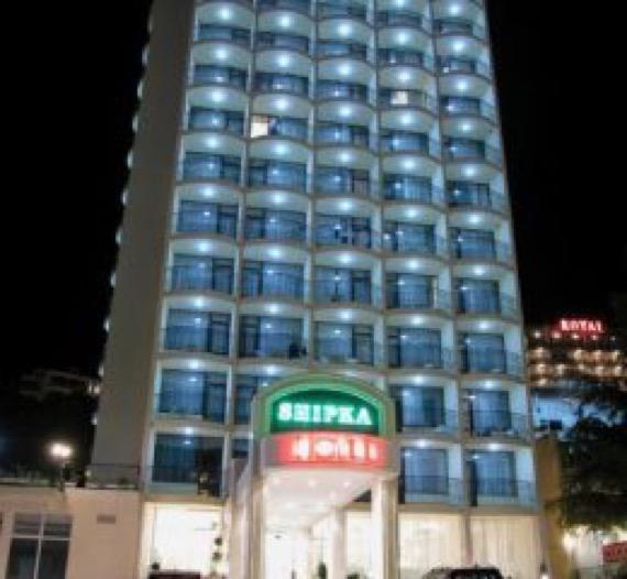 хотел шипка златни пясъци снимка фасада