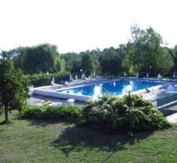 хотел природа долна баня изображение отвън