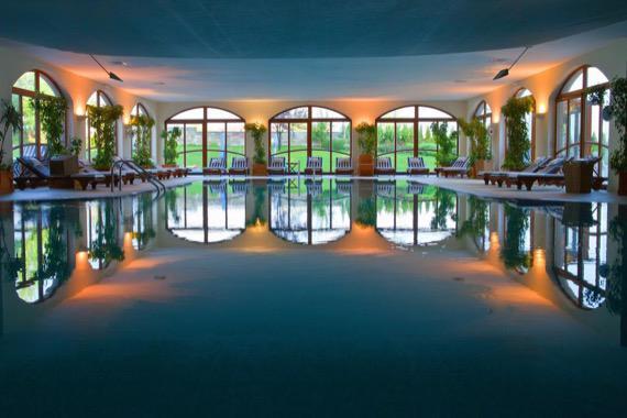 Кемпински Гранд Арена, Банско снимка закрит басейн