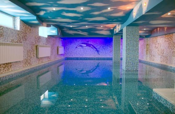 Балнеохотел Аура - Велинград снимка закрит басейн