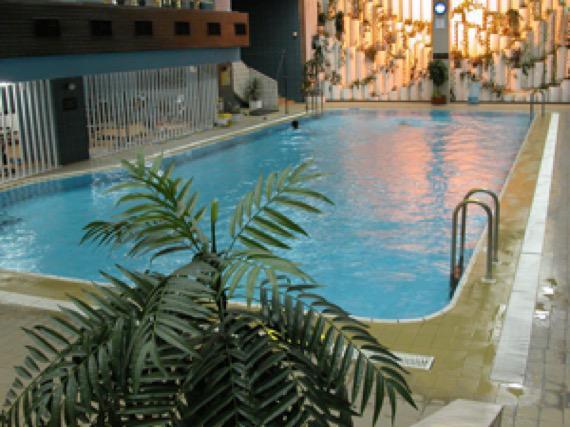 Хотел Родина, София снимка закрит басейн
