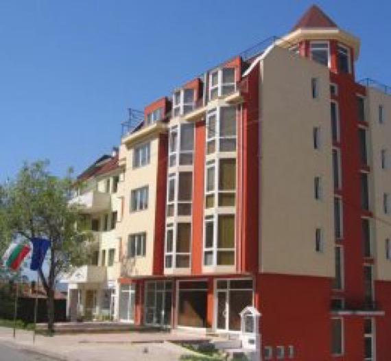 Хотел Дева Сандански снимка отвън