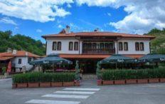 Хотел Златен Рожен Мелник снимка отвън