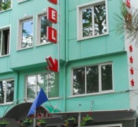 Хотел Новиз Пловдив снимка фасада