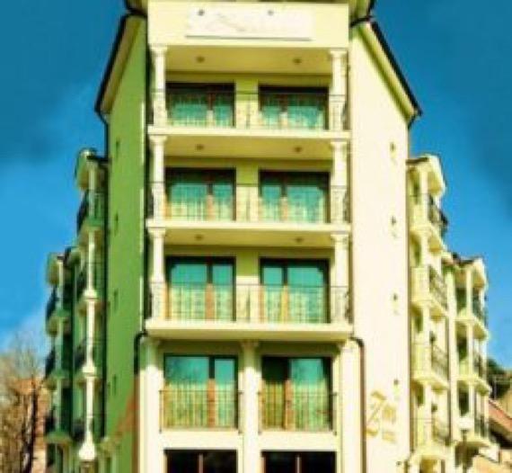 Хотел Зевс Поморие снимка фасада