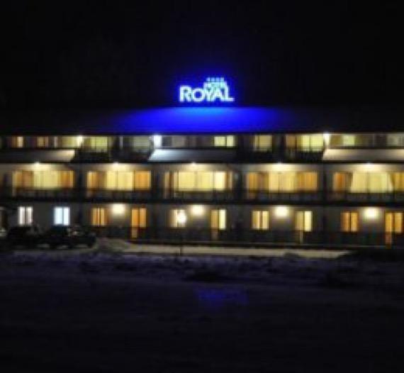 Хотел Роял Боровец снимка нощна
