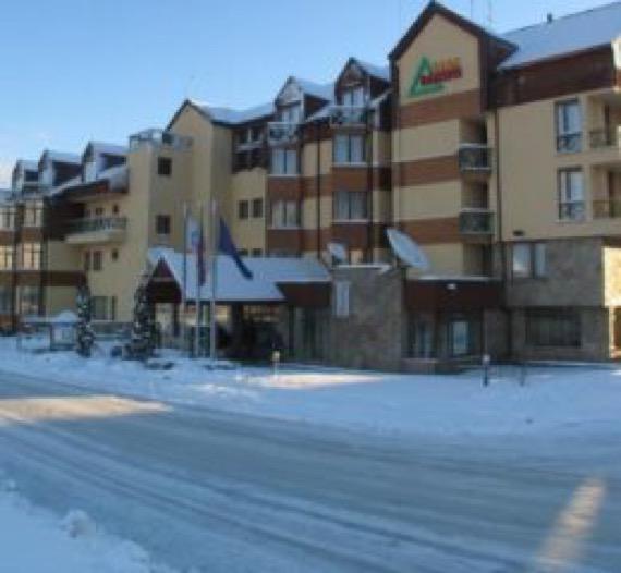Хотел Банско в Банско зимна снимка