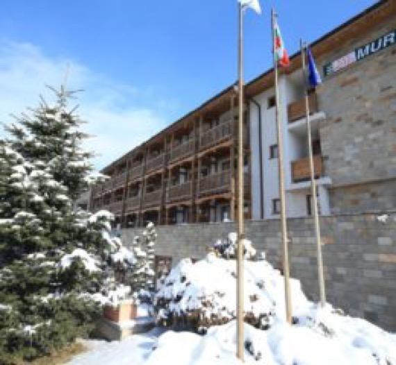 Хотел Мура Банско зимна снимка
