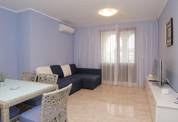 Комплекс Естебан, Несебър - всекидневна от едноспален апартамент