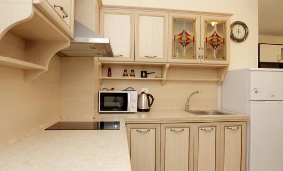 Комплекс Естебан, Несебър - снимка кухня от студио