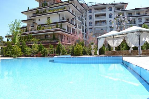 Комплекс Естебан, Несебър - снимка открит басейн