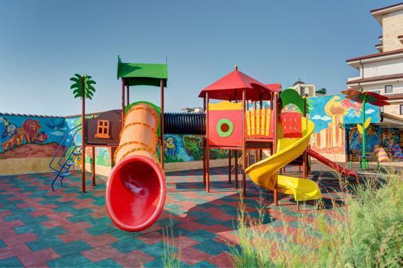 Коплекс Посейдон - детска площадка