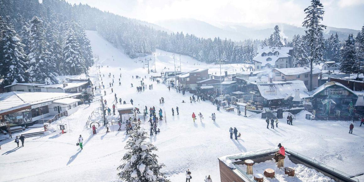 зимен изглед от Боровец