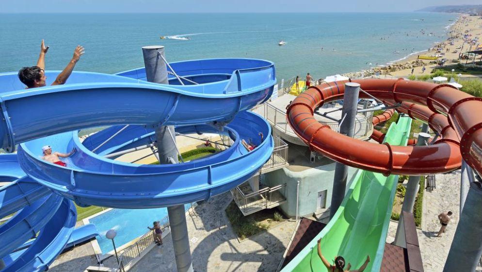 аквапарк в Сол Луна Бей Ризорт в Обзор